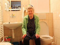Jana Taterová si novou koupelnu pochvaluje