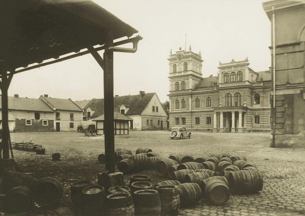 Pivovar Rohozec na začátku 20. století.