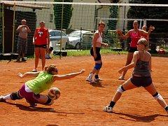 Volejbalový turnaj v Semčicích