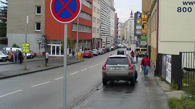 Dopravní značka. Ilustrační foto
