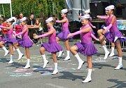Náves v Horním Cetně ovládly o víkendu Letní slavnosti.