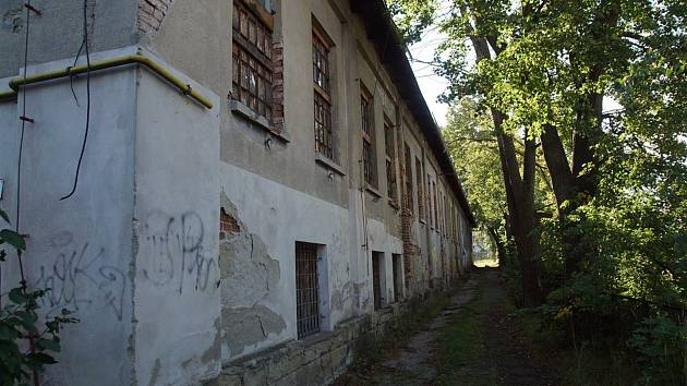 Bývalá hala u střední průmyslové školy