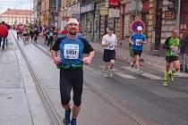 Petr Mašek běžel Pražský maratón už potřetí