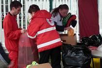 Třemi tunami oblečení přispěli do sbírky zaměstnanci Škodovky