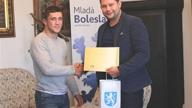 Adam Kopecký na magistrátu.