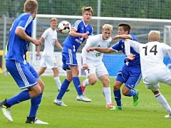 Celostátní liga dorostu: FK Mladá Boleslav U19 - Sigma Olomouc U19.