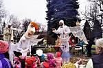 Vánoční jarmark v Bělé.