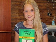 Desetiletá spisovatelka Markéta Choutková
