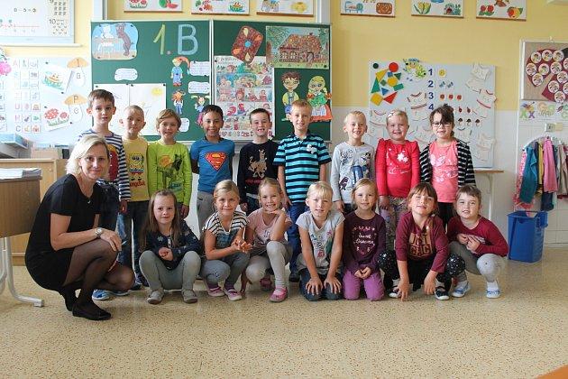 Základní škola Pastelka Mladá Boleslav, 1.B, třídní učitelka Michaela Kerdová