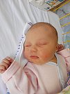 Ema Koníčková se narodila 25. února, vážila 3,55 kg a měřila 49 cm. S maminkou Lenkou a tatínkem Milanem bude bydlet v Chotětově, kde už se na ni těší sestřička Pavlínka.