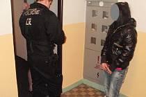 Cizinka rušila noční klid v Havlíčkově ulici