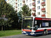 Autobus Městské hromadné dopravy v Mladé Boleslavi.