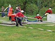 Soutěž dobrovolných hasičů ve Vinci