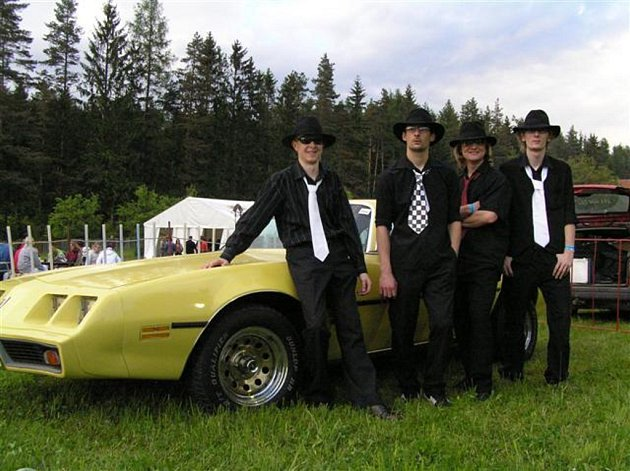 Tomáš Lukášek, Jan Holeček, Martin Beer a Zbyšek Dvořák (zleva).