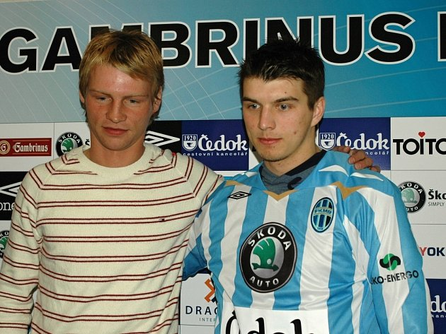Jan Rajnoch (vlevo) a Ondřej Kúdela