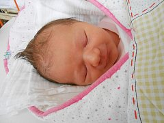 ELIŠKA Nožičková se narodila 7. února. Vážila 3,08 kg a měřila 49 cm. Maminka Andrea a tatínek Honza si ji odvezou domů do Kosmonos.