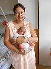 Lucy Raich se narodila 24. července, vážila 3,46 kg a měřila 50 cm. Maminka Martina a tatínek Tomáš si ji odvezou domů do Skalska.