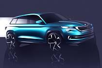 Designová studie Škoda VisionS.