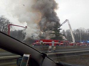 Požár Motorestu