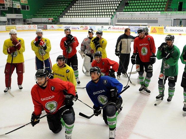 Hokejisté BK Mladá Boleslav vyjeli na led