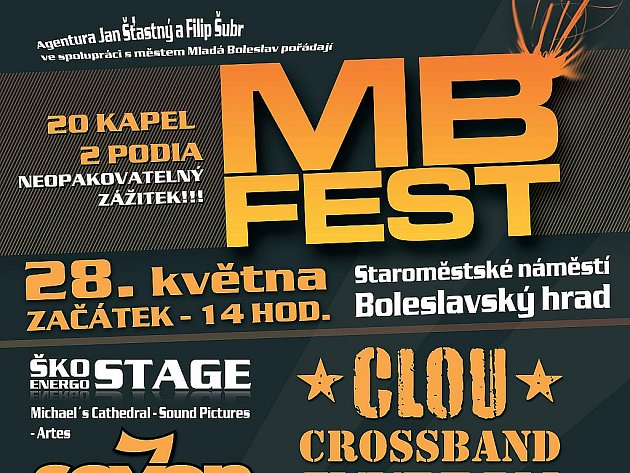 MB Fest 28. května 2011 v Mladé Boleslavi.