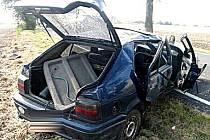 Jedna z mnoha vážných nehod na Mladoboleslavsku.
