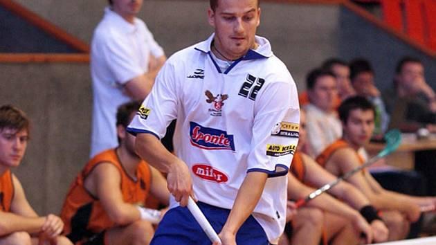 Boleslavský florbalový útočník Onřej Fojta by měl patřit k úderné síle svého týmu v utkání s Brnem.