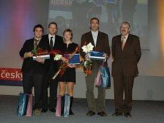 Ze slavnostního vyhlášení ankety Sportovec Středočeského kraje 2008 v Mladé Boleslavi.