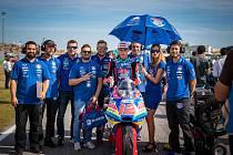 Filip Salač se svým týmem v Misanu