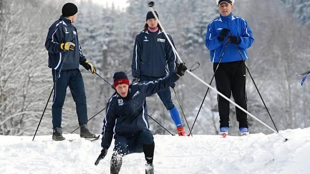Kondiční soustředění FK Mladá Boleslav v Harrachově