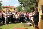 Sjezd rodáků a přátel obce Koprník za účasti přátel z polské obce Koperniki.