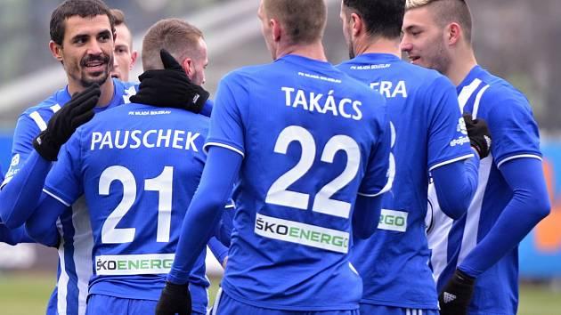 Fotbalisté Mladé Boleslavi v generálce porazili Táborsko 2:0.
