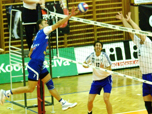 Kooperativa extraliga mužů: Volleybal.cz Kladno - VK Karbo Benátky nad Jizerou