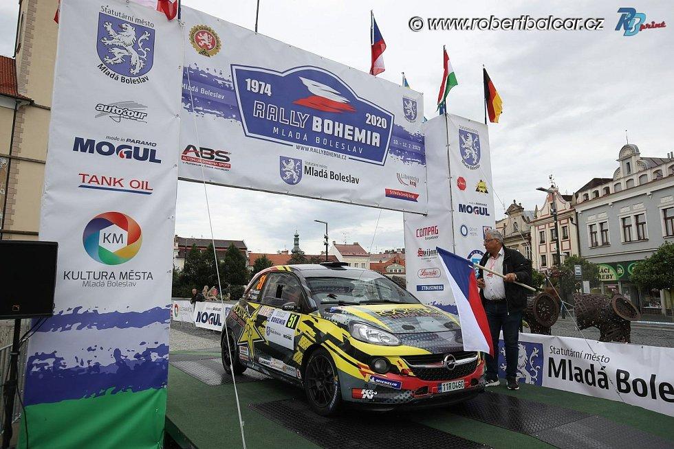 Ze závodů Rally Bohemia
