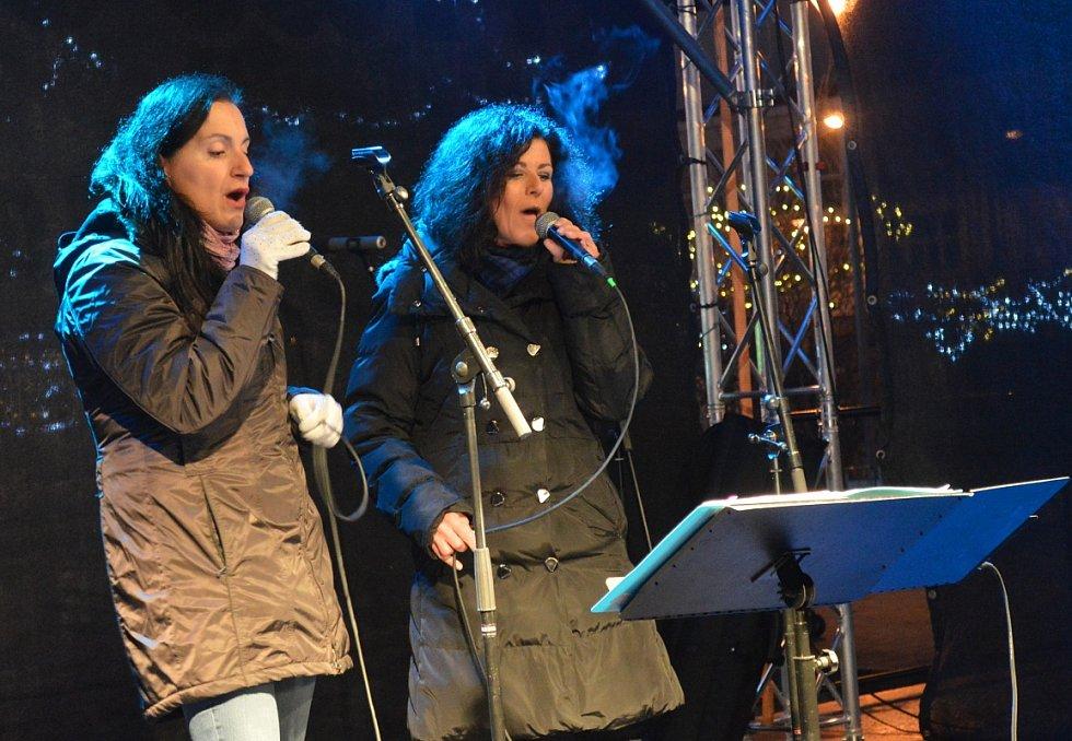 Česko zpívá koledy v parku Výstaviště v Mladé Boleslavi.