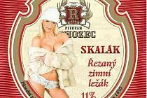 Etiketa rohozeckého piva, kvůli které vznikl spor.
