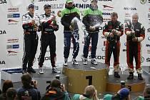 Stupně vítězů Rally Bohemia 2011