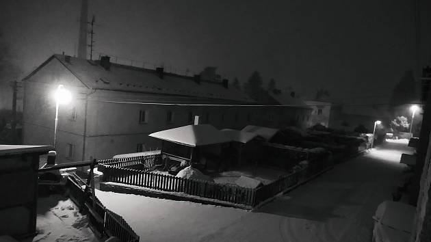 Zasněžený Josefův Důl