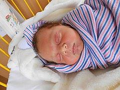 Nikol Havlasová se narodila 29. dubna, vážila 3,2 kg a měřila 49 cm. Maminka Veronika a tatínek Pavel si ji odvezou domů do Smilovic.