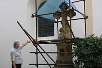 Benátecké sochy se rozpadají