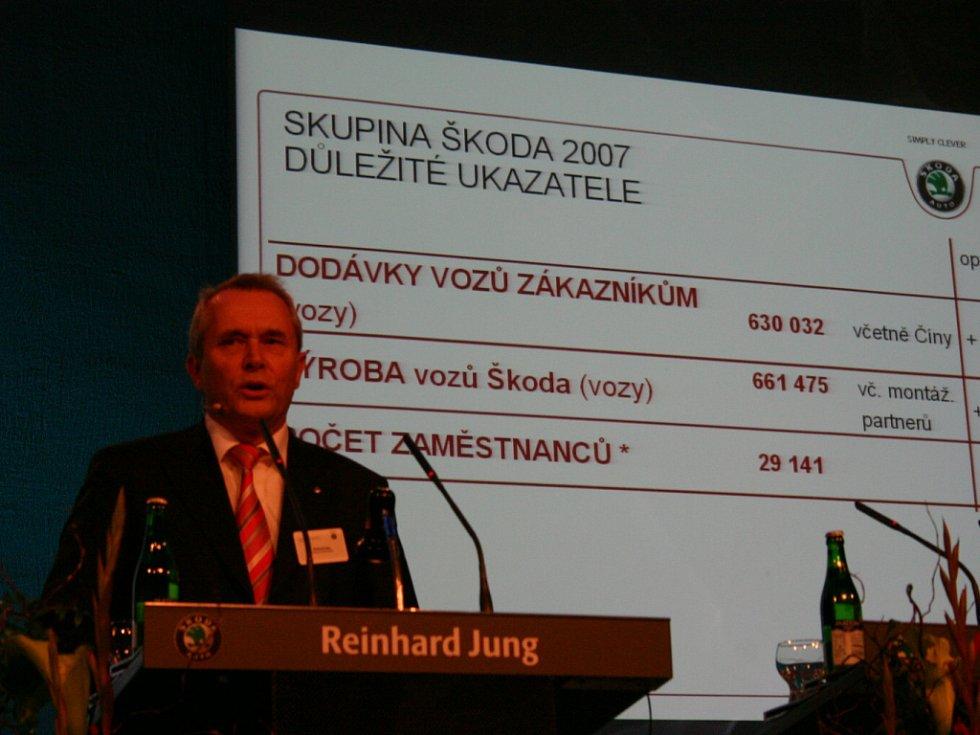 Tisková konference Škoda Auto a. s.