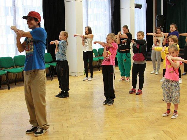 Taneční workshop s Davidem Tazem Lajpertem