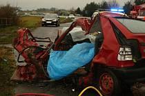 Smrtelná nehoda nedaleko Martinovic.