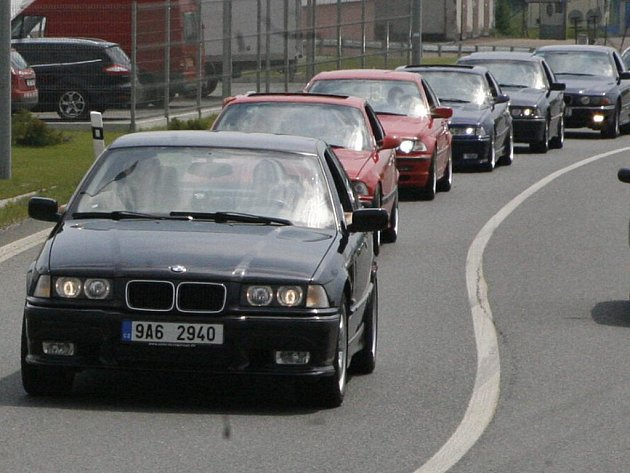 Sraz BMW v Mladé Boleslavi