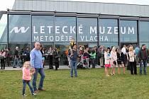 Letecké muzeum Metoděje Vlacha je otevřené. Vyzkoušet si zde můžete i simulátory.