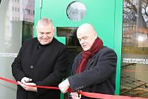 Významné osobnosti Mladé Boleslavi a jeho tvůrci otevřeli nové Infocentrum Mladá Boleslav.