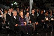 Na koncert dorazila řada významných hostů.