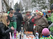 Masopust prošel obcí Dolní Slivno na Mladoboleslavsku.