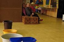 Děti ve školce v Dolní Krupé