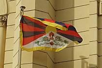 Mladá Boleslav vyvěsila tibetskou vlajku, 11.března 2021